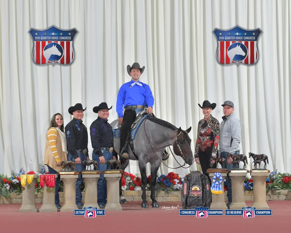 VS GoodRide 2019 NSBA Horse of the Year