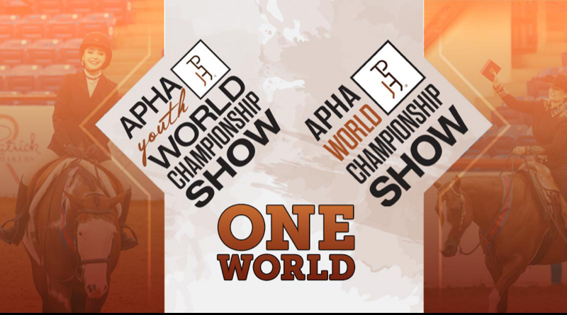 2020 APHA Youth World Show postponed – to be combined with Open/Amateur World Show