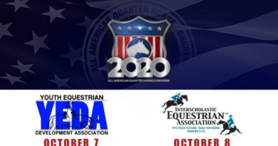 2020 All American Quarter Horse Congress to Host Two Draw-Based Youth Competitions