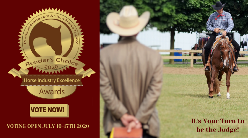 Voting Open in 2020 Show Horse Today Reader's Choice Awards