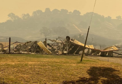 Oak Springs Ranch Devastated by California Wildfire