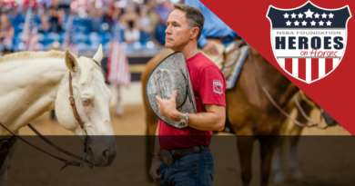 NSBA Heroes on Horses Take to the Arena Tonight