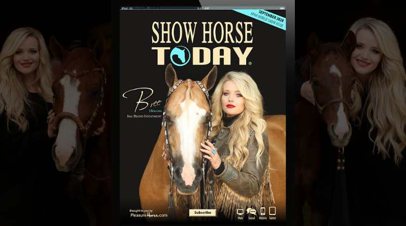 September Show Horse Today