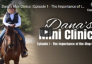 Dana's Mini Clinics | Episode 1 – The Importance of the Stop (Part 1)