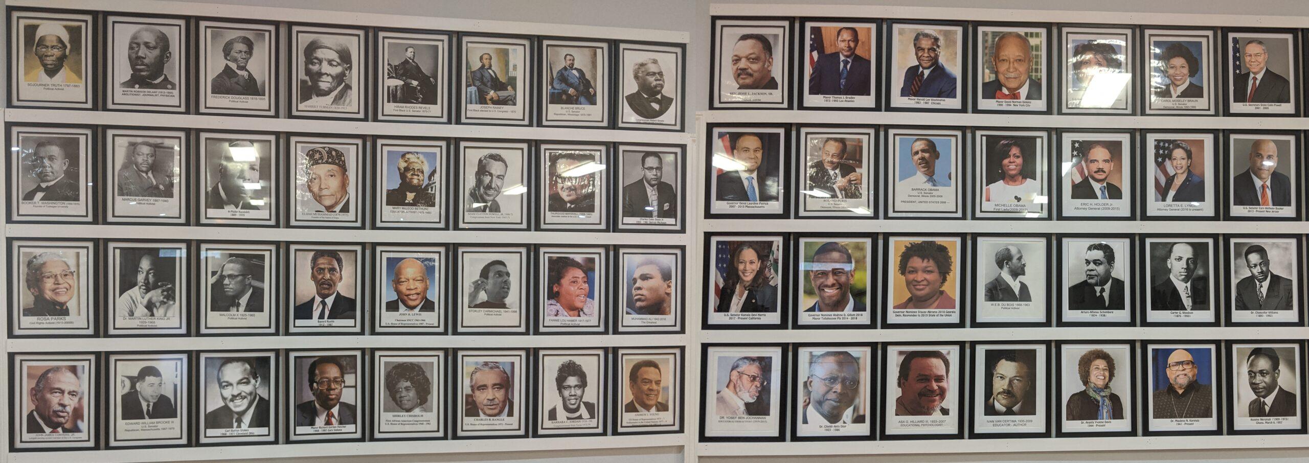 Wall of Leaders & Scholars