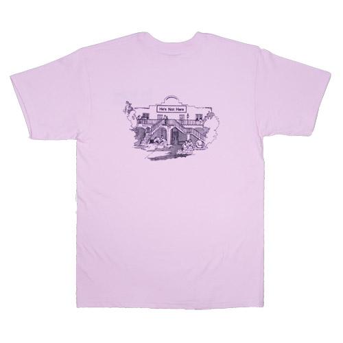 t-shirt he's not here chapel hill nc