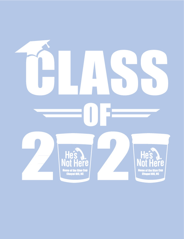 Class of 2020 Graduation Tee + Free Pint Glass