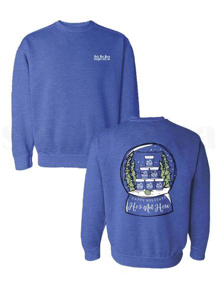 Holiday Snow Globe Sweatshirt