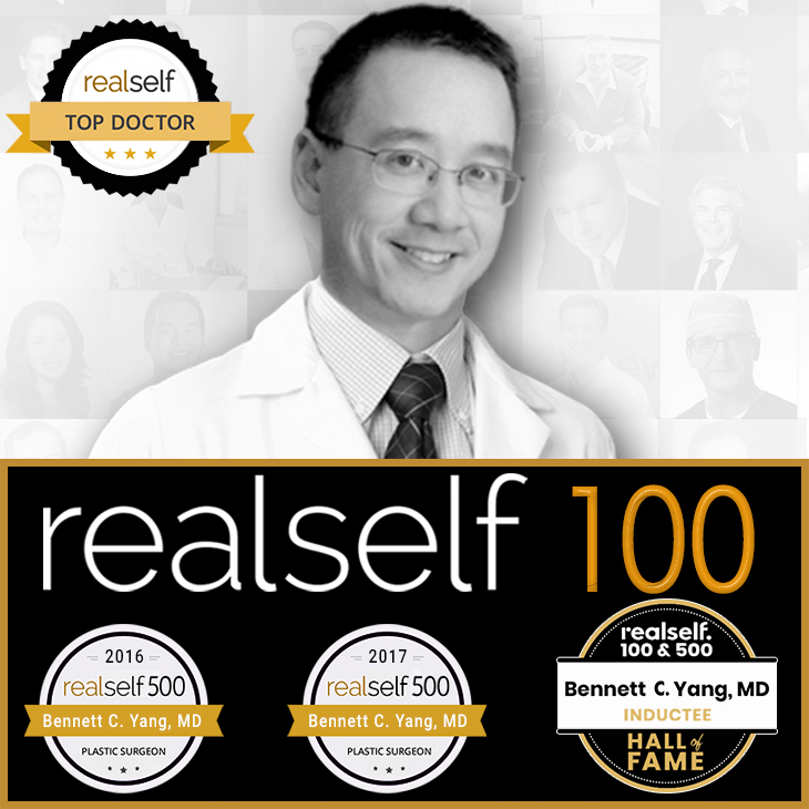 Realself Hall Of Fame Top Plastic Surgeon Bennett C. Yang, MD