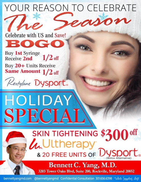 50% off Liquid Facelift - Restylane & Dysport