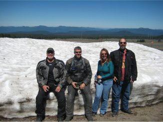 Bruce at Shasta Lake, When the Temperature Soared