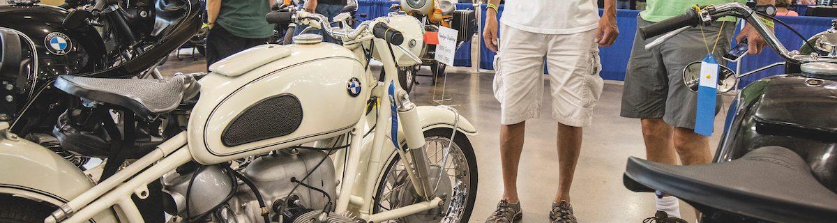 Vintage BMW display and seminar