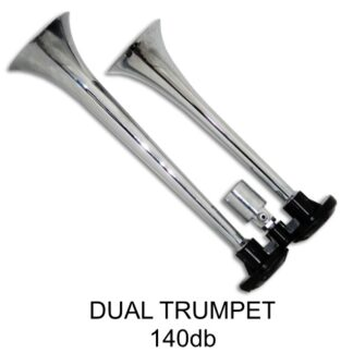 Dual Trumpet Horn with Viair Air Systems