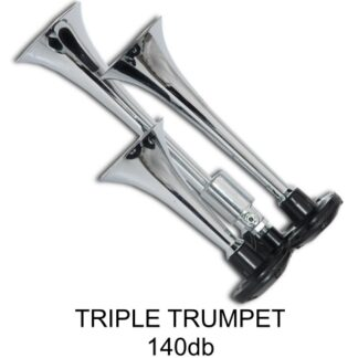 Triple Trumpet Horn with Viair Air Systems
