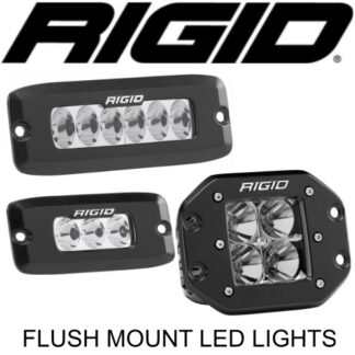 Rigid Flush Mount LED Lights