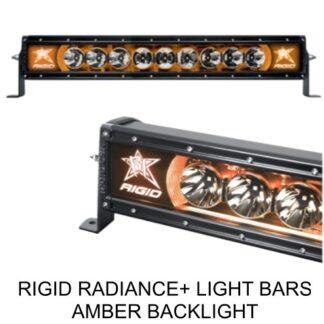 Rigid Radiance+ Amber Backlight