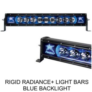 Rigid Radiance+ Blue Backlight