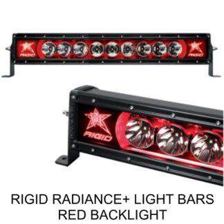 Rigid Radiance+ Red Backlight