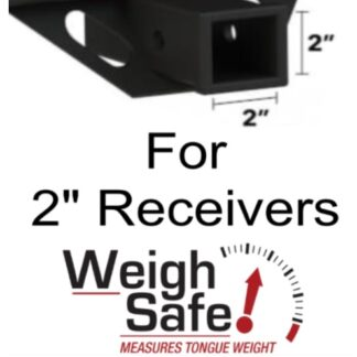 "Weigh Safe 180 Hitch for 2"" Receiver"