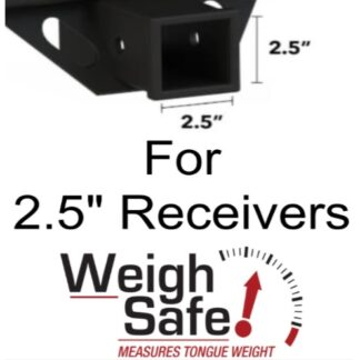 "Weigh Safe 180 Hitch for 2.5"" Receiver"