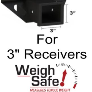 "Weigh Safe 180 Hitch for 3"" Receiver"