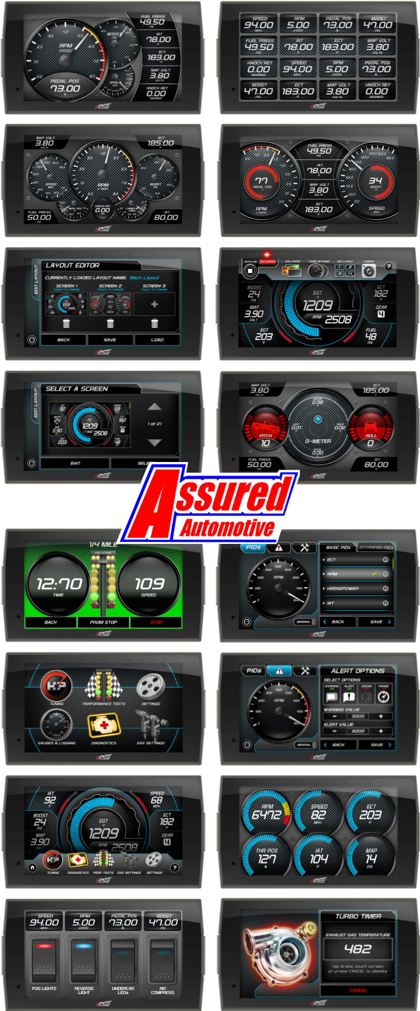 EDGE PRODUCTS Tuners by Assured Automotive Co.