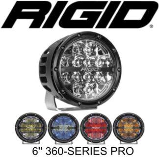 """Rigid 6"""" 360-Series LED Lights"""