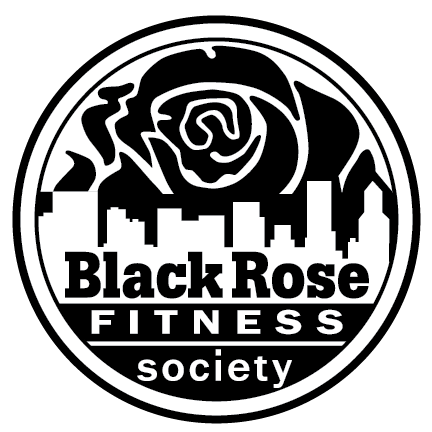 Black Rose Fitness Society Logo