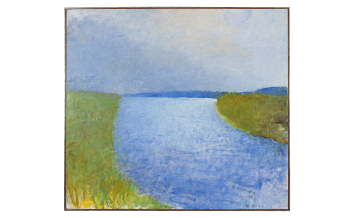 Wolf Kahn Painting