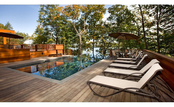 Aquatic Designs Tivoli Home 1 infinity Pool