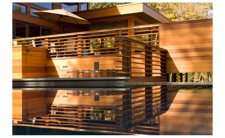 Aquatic Designs Tivoli Home 1 infinity Pool