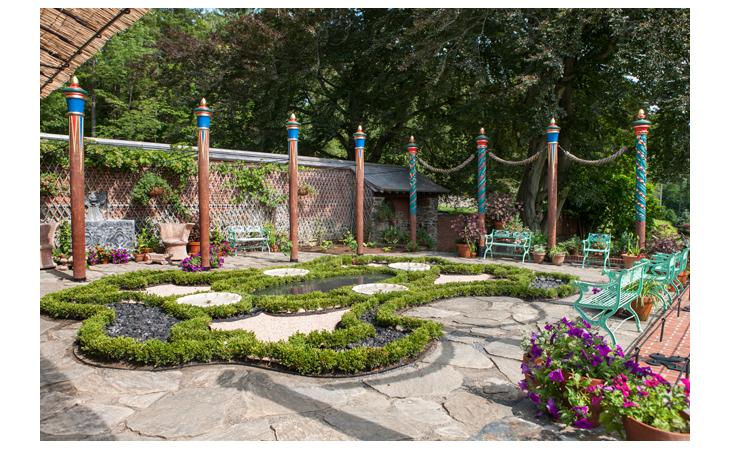Naumkeag Afternoon Garden  RENOVATION TTOR Allegrone Construction