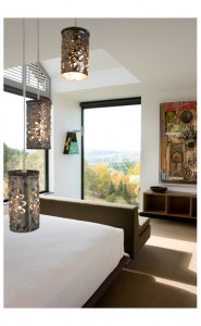 Burr McCallum Architects / Guest Bedroom w view looking North