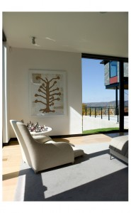 Burr McCallum Architects / Master Bedroom view to porch