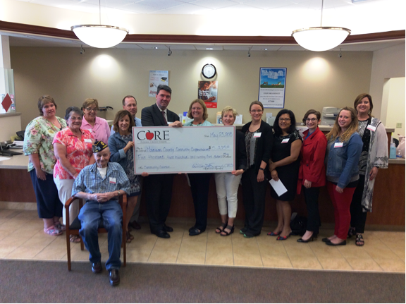 CORE Federal Credit Union's Community Grant Program supports local non-profits