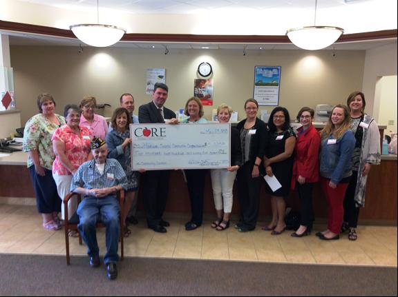 CORE Federal Credit Union's Community Grant Program supports local non-profits