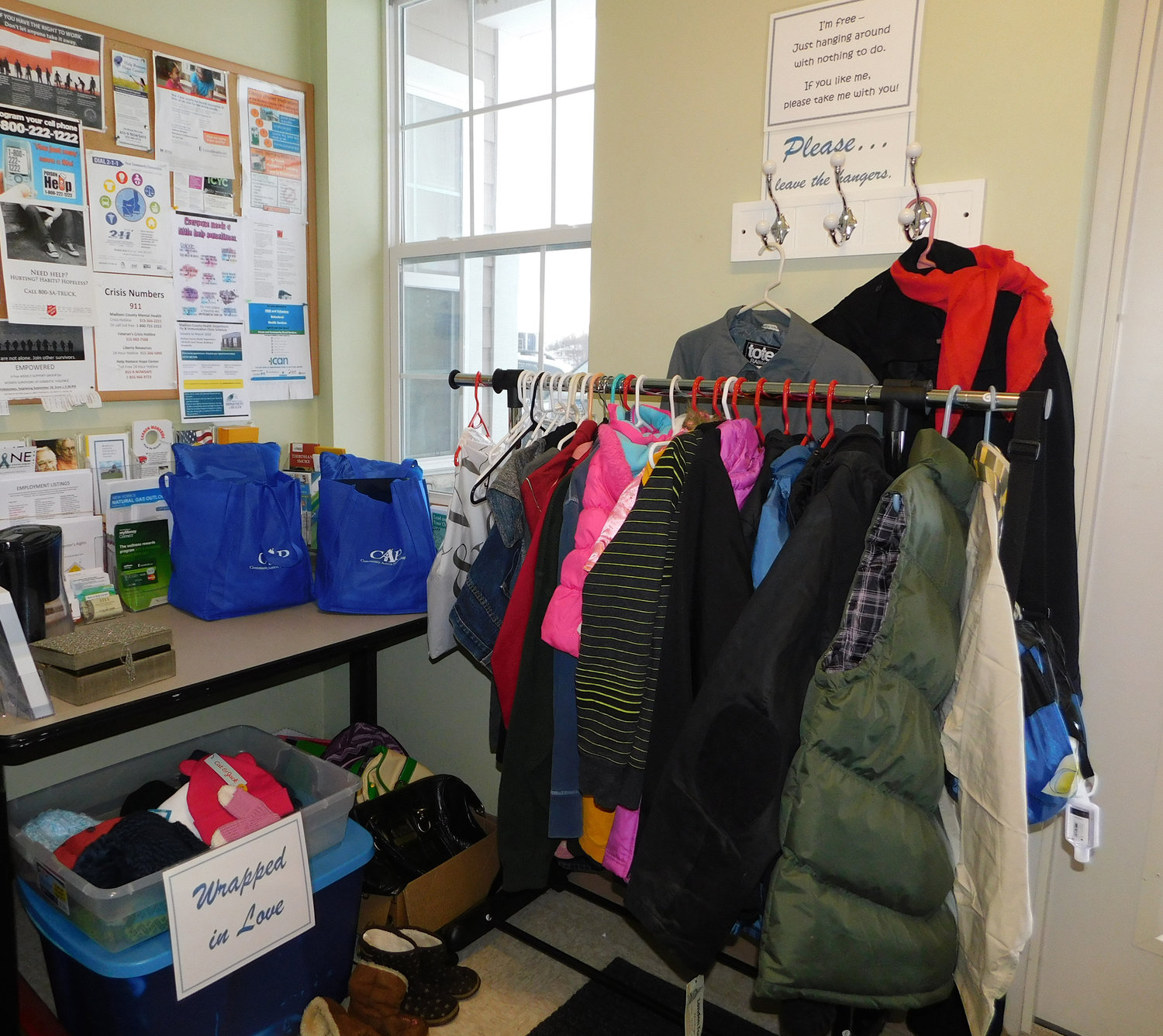 Effort aims to keep people warm during winter