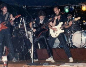 UXB at the Crazy Horse, 1984