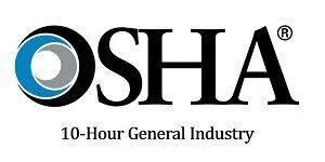 OSHA 10 hour general industry badge