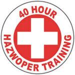 Hazwoper 40 hour training badge