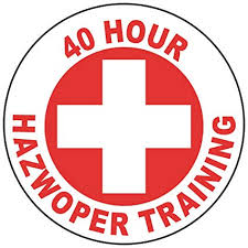 Hazwoper 40 hour training badge