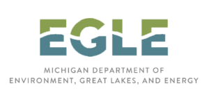 Michigan Department of Environment, Great Lakes, and Energy Logo