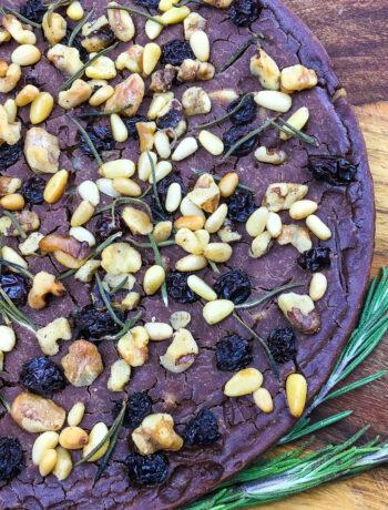 Castagnaccio – Traditional Tuscan Chestnut Flour Cake