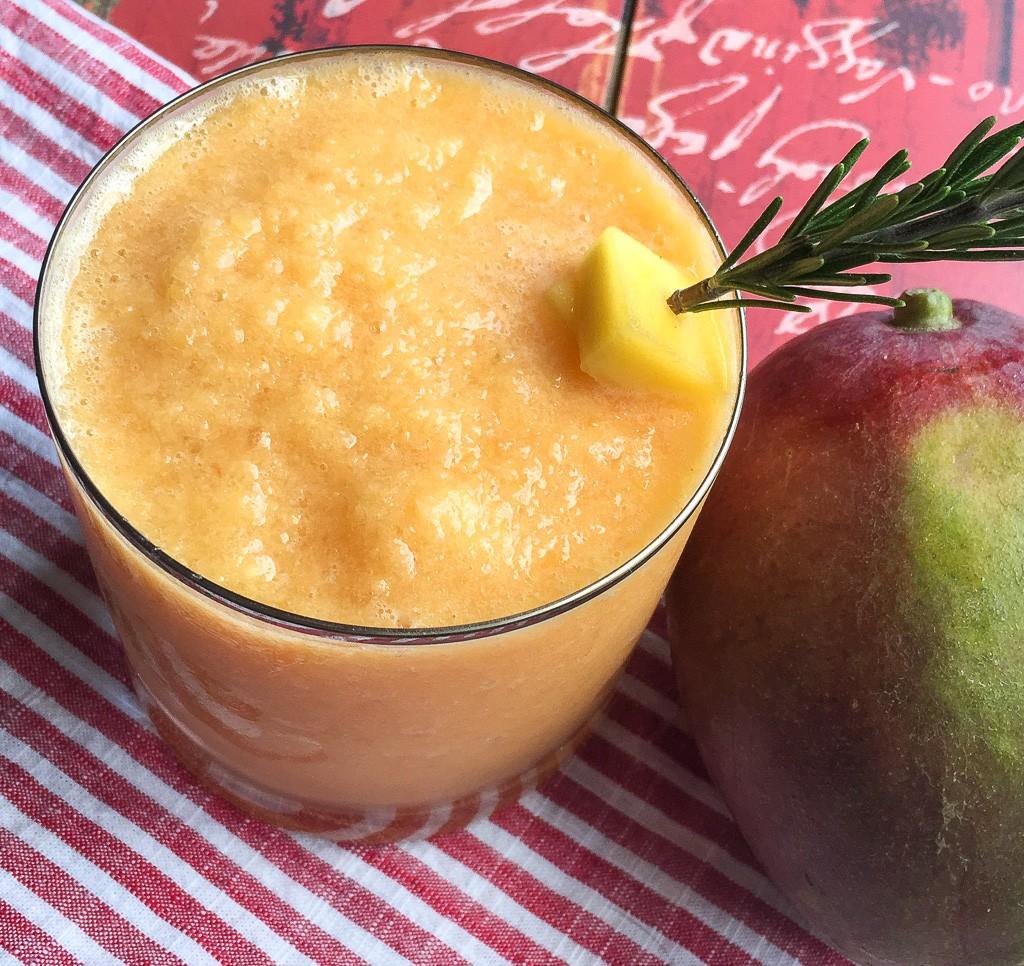 Frozen Mango Slushy