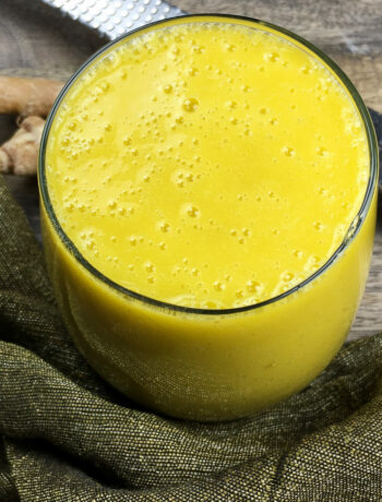 Tropical Mango Breakfast Smoothie