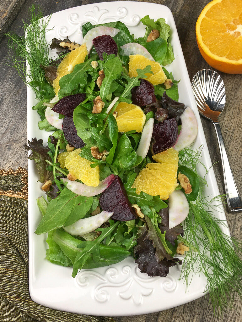 Roasted Beet, Citrus, & Fennel Salad