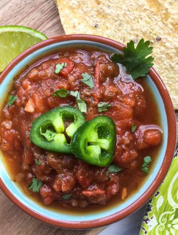 Quick & Easy Spicy Salsa