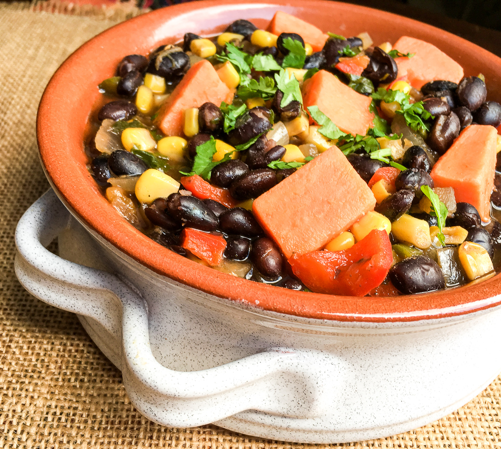 Black Bean and Sweet Potato Soup