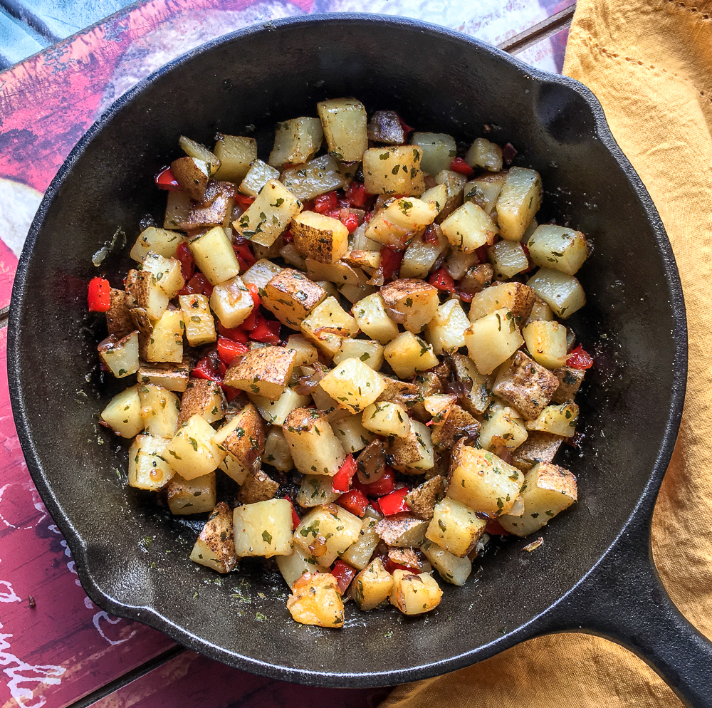 Easy Parmesan Home Fries