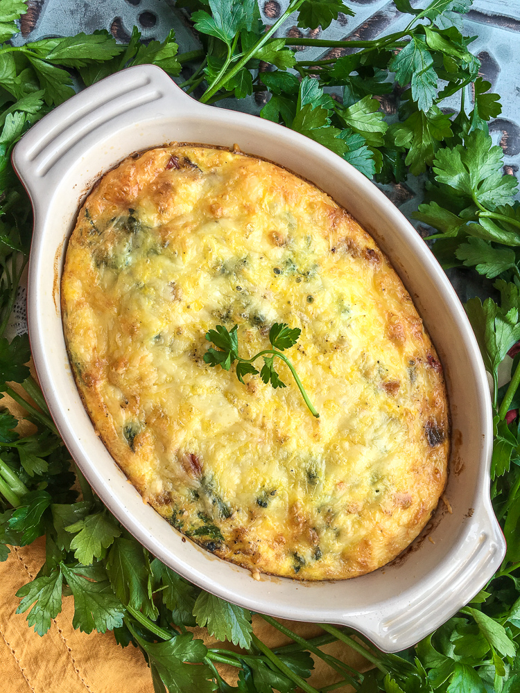 Sweet Potato and Red Pepper Frittata